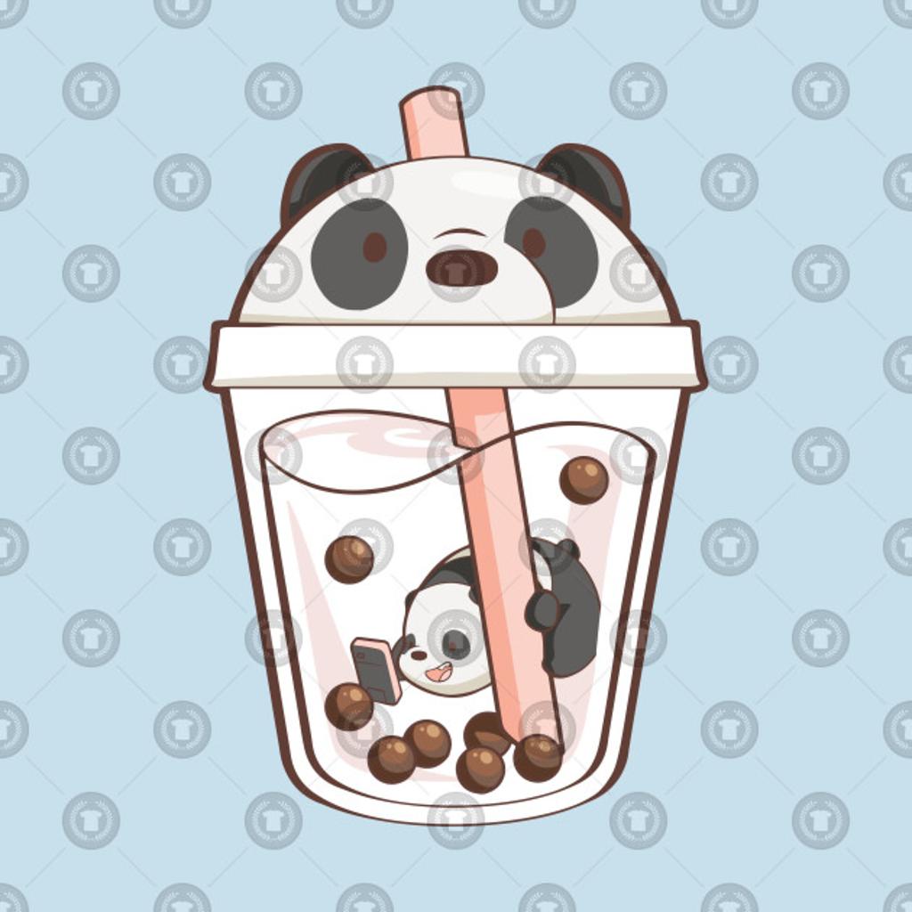 TeePublic: Panda Boba