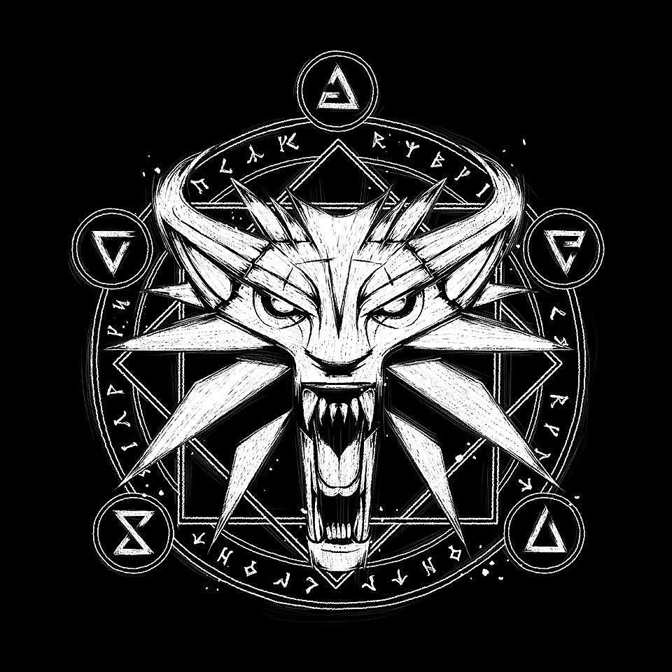 TeeFury: Wolf Medallion