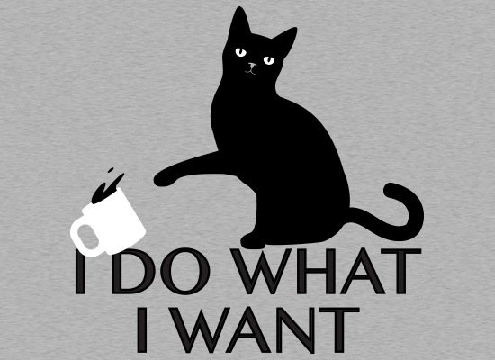 SnorgTees: I Do What I Want