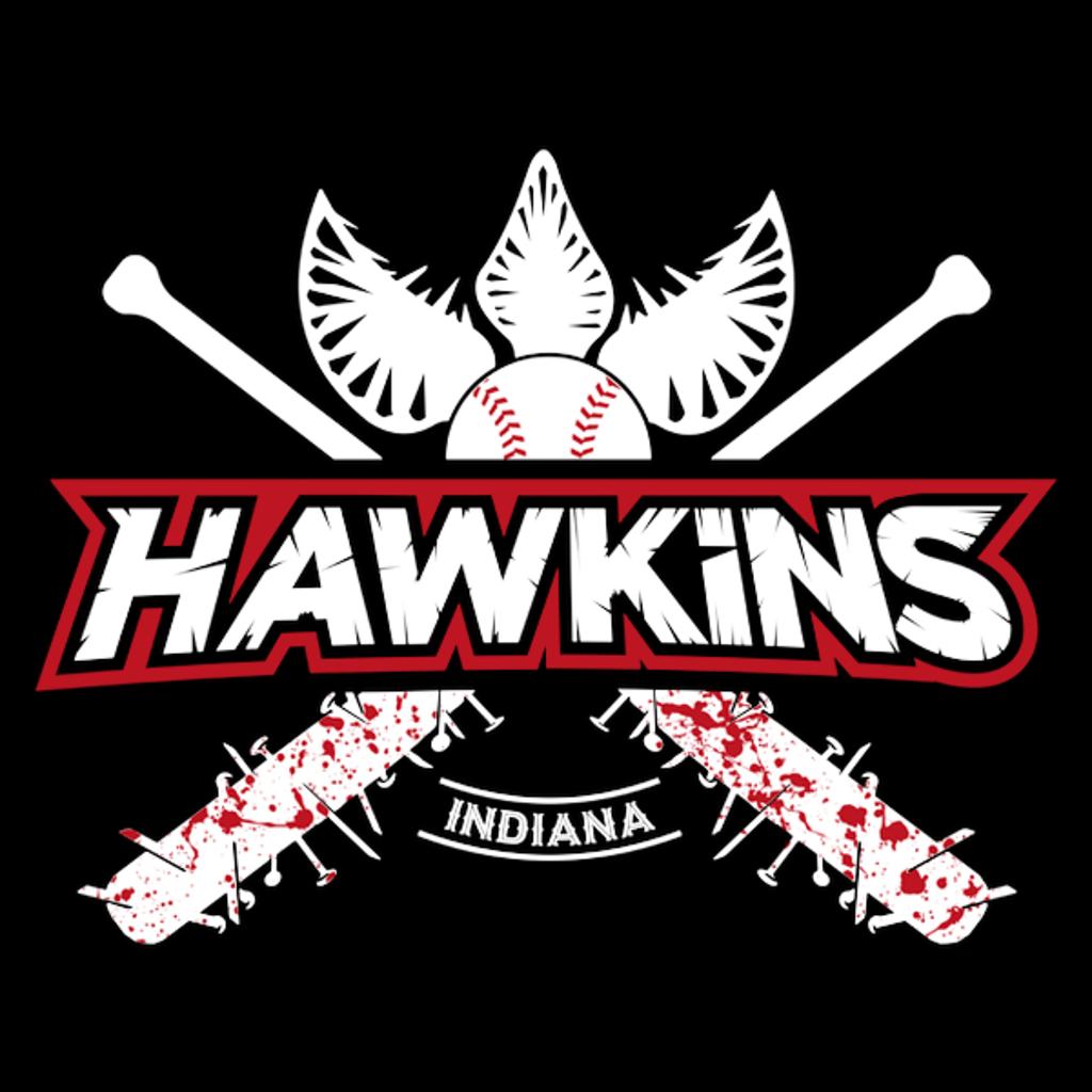 NeatoShop: Hawkins Baseball Shirt