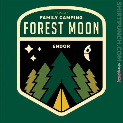 ShirtPunch: Forest Moon Camping
