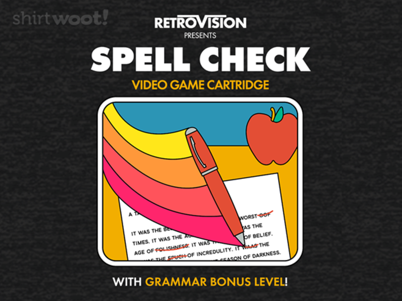 Woot!: Spell Check the Game