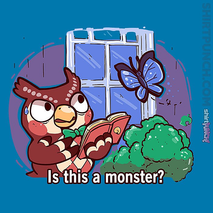 ShirtPunch: Is This A Monster?