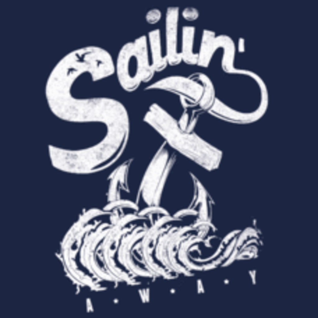 Textual Tees: Sailin Away