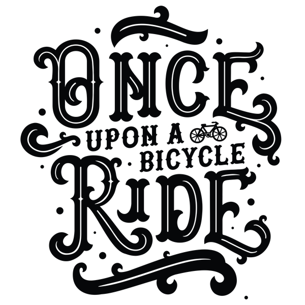NeatoShop: Once Upon a Bicycle Ride (Black Print)