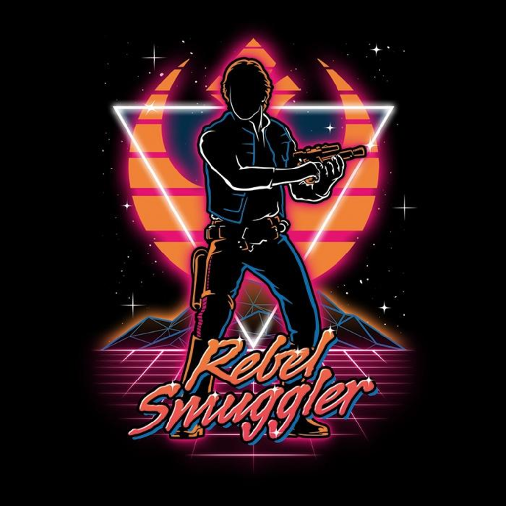 Once Upon a Tee: Retro Rebel Smuggler