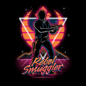 Once Upon a Tee: Retro Rebel Smuggler