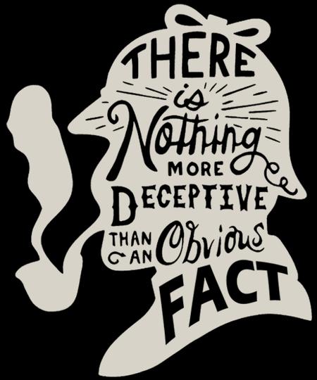 Qwertee: Sherlock Holmes