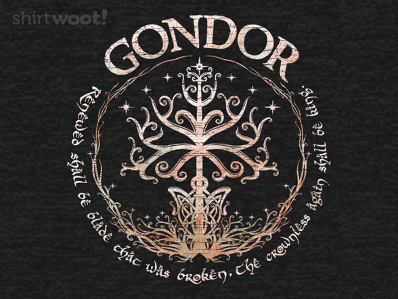 Woot!: Gondor, Land of Stone