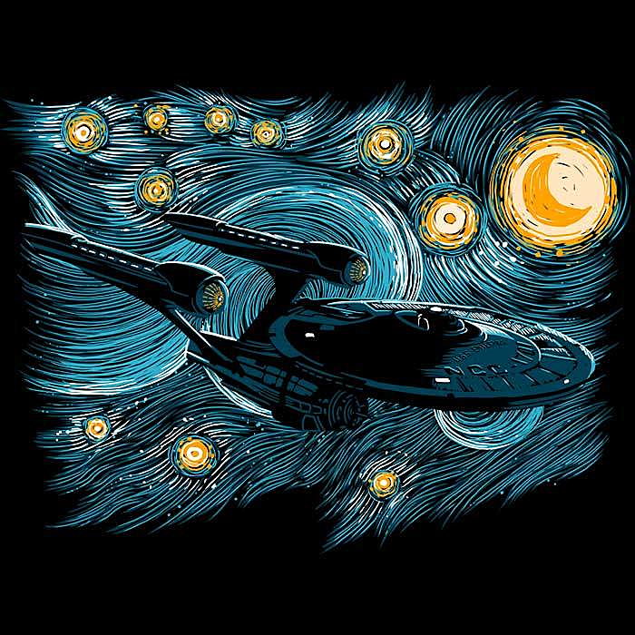 Once Upon a Tee: Starry Enterprise