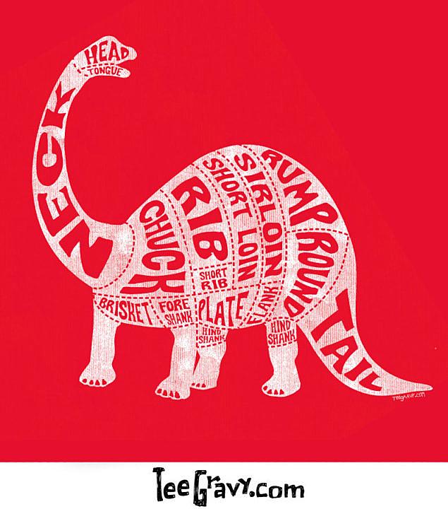 Tee Gravy: Jurassic Meats