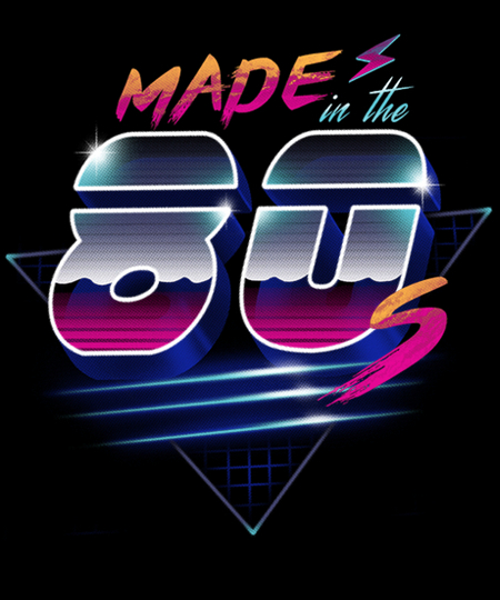 Qwertee: Made in the 80's