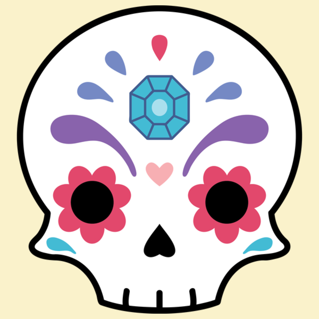 NeatoShop: Sugar skull diamond