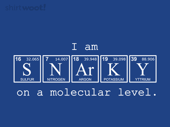 Woot!: SNArKY - $8.00 + $5 standard shipping