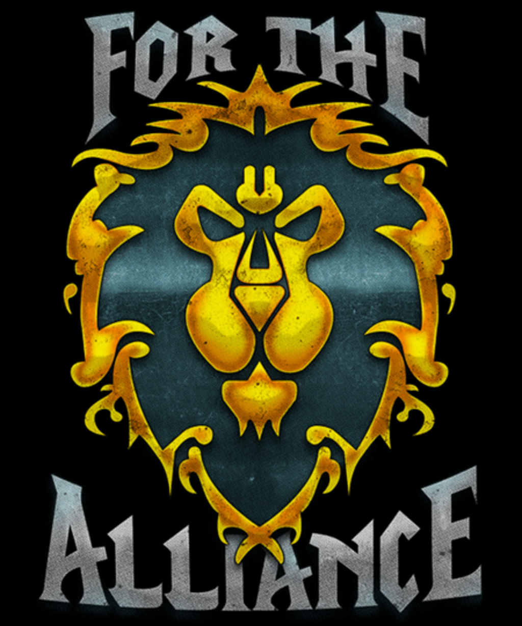 Qwertee: For the Alliance