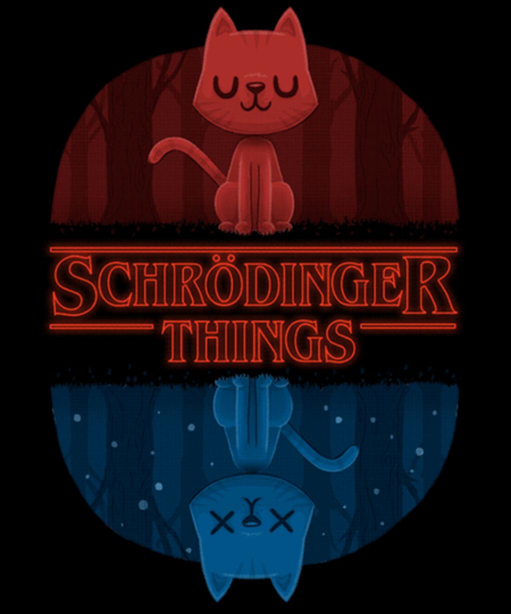 Qwertee: Schrödinger Things