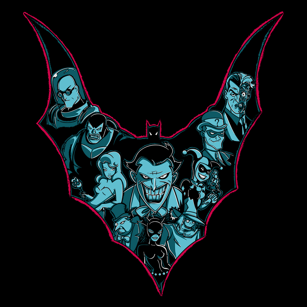 Pop-Up Tee: Villains Shadows