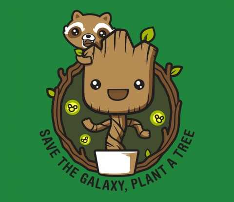 TeeFury: Galaxy Forest Conservation Program - Exclusive Variant