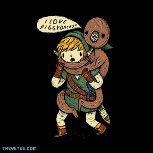 The Yetee: i love piggy backs