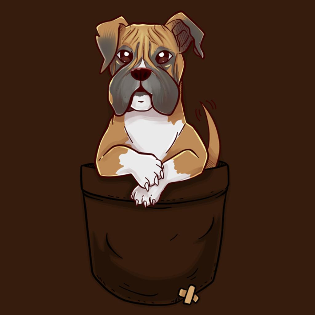 NeatoShop: Pocket Cute Boxer Dog