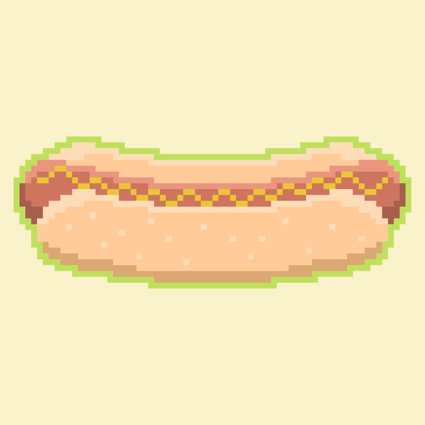 NeatoShop: Pixel Hot Dog