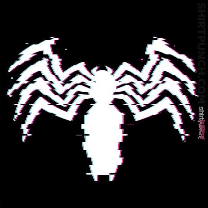 ShirtPunch: Glitch Symbiote