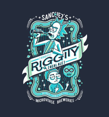 BustedTees: Riggity Real Ale