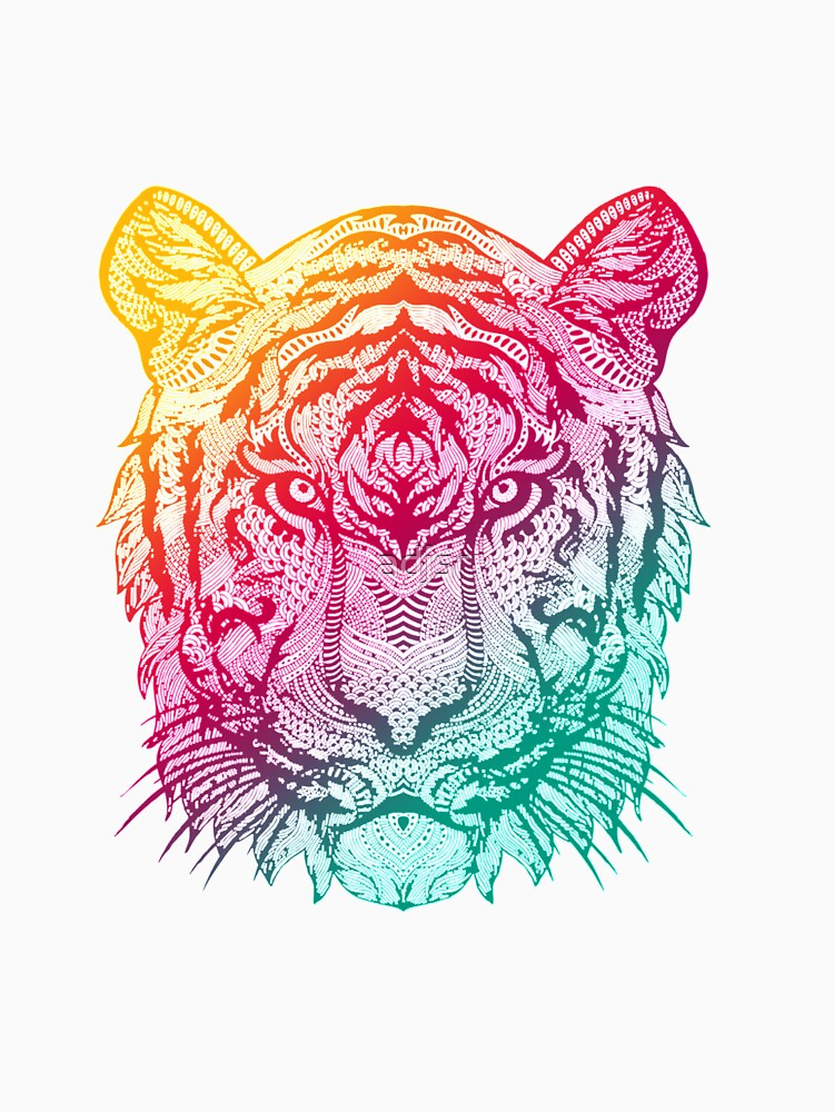 RedBubble: Warm Tiger