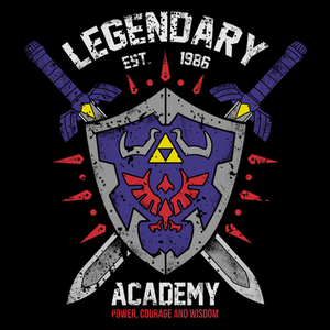 Pop-Up Tee: Legendary Academy