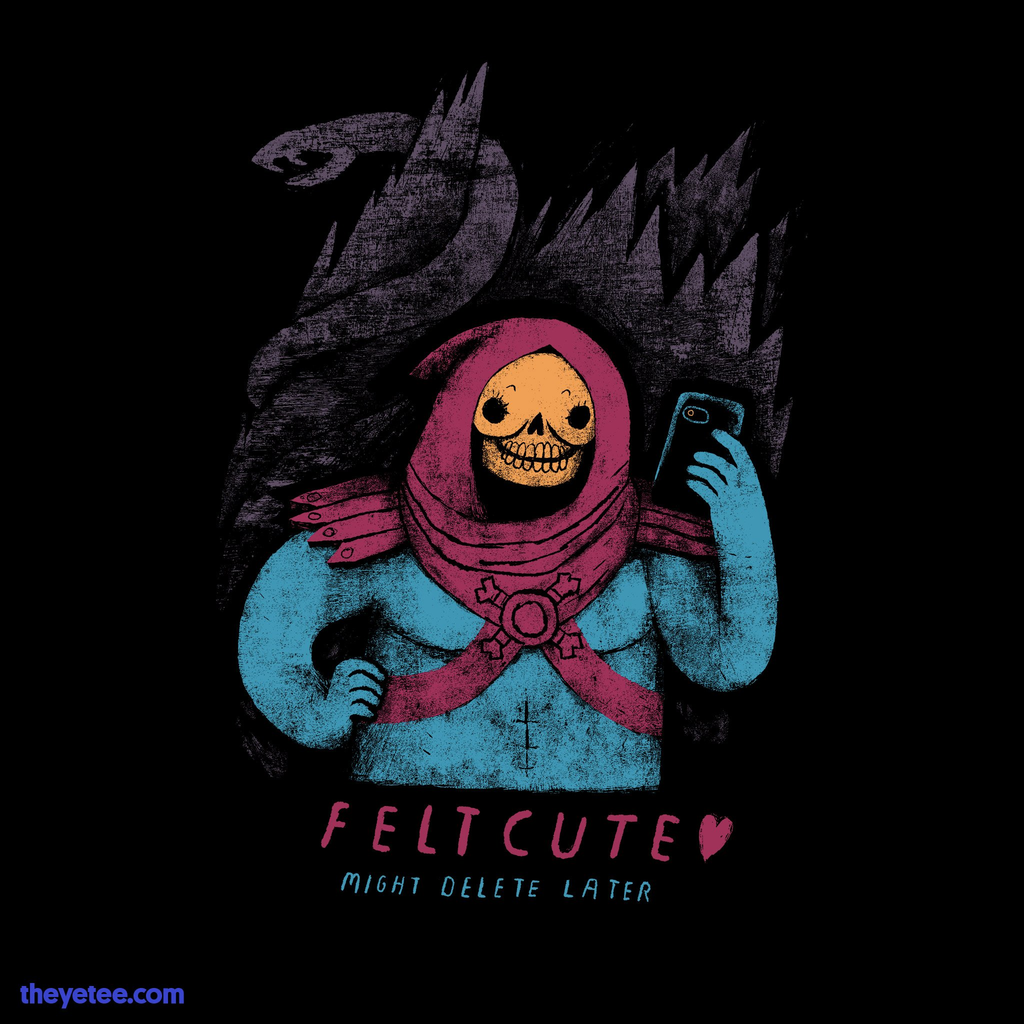 The Yetee: felt cute, might delete later