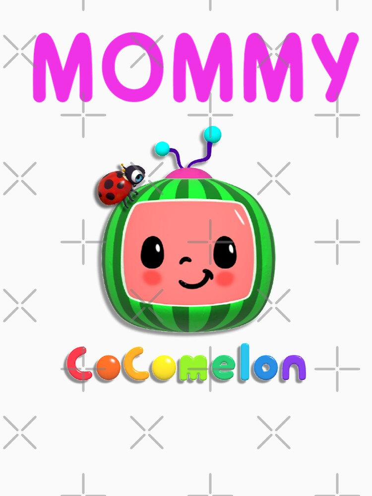 RedBubble: Cocomelon Nursery Rhymes Kids Songs Mask Sticker