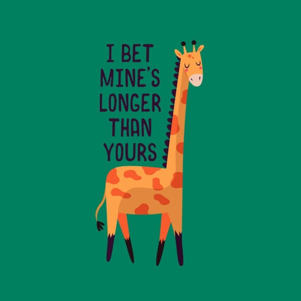 BustedTees: Bragging Giraffe