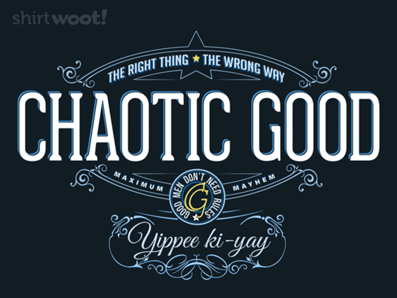 Woot!: Yippee ki-yay - $15.00 + Free shipping