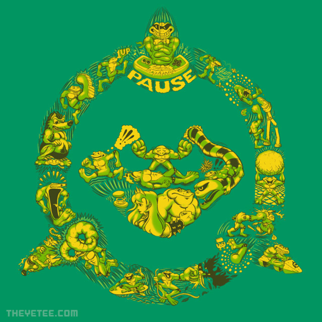The Yetee: Toadally Epic