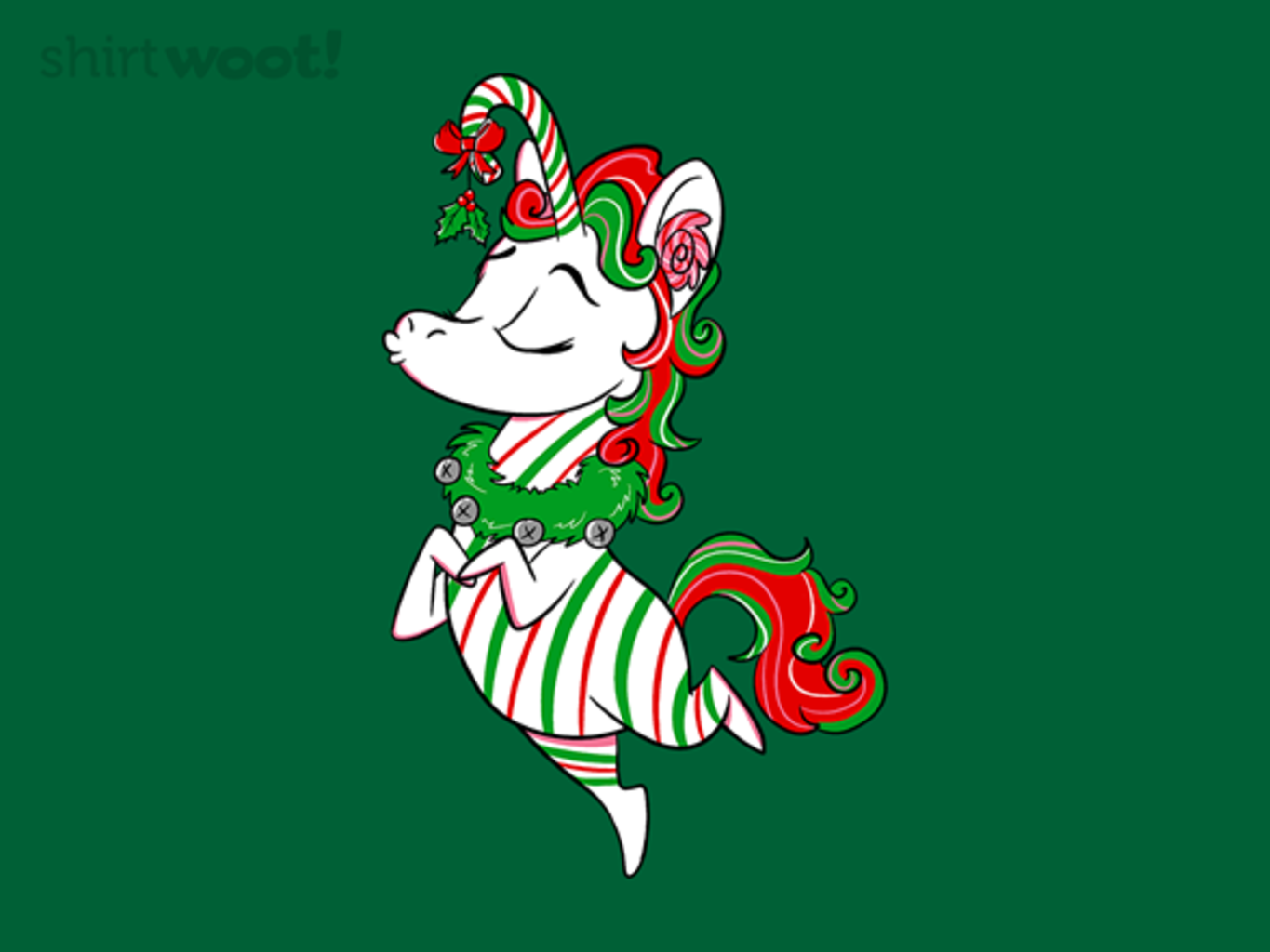 Woot!: Candy Caneicorn - $8.00 + $5 standard shipping