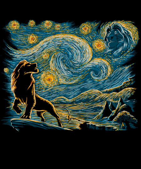 Qwertee: Starry King