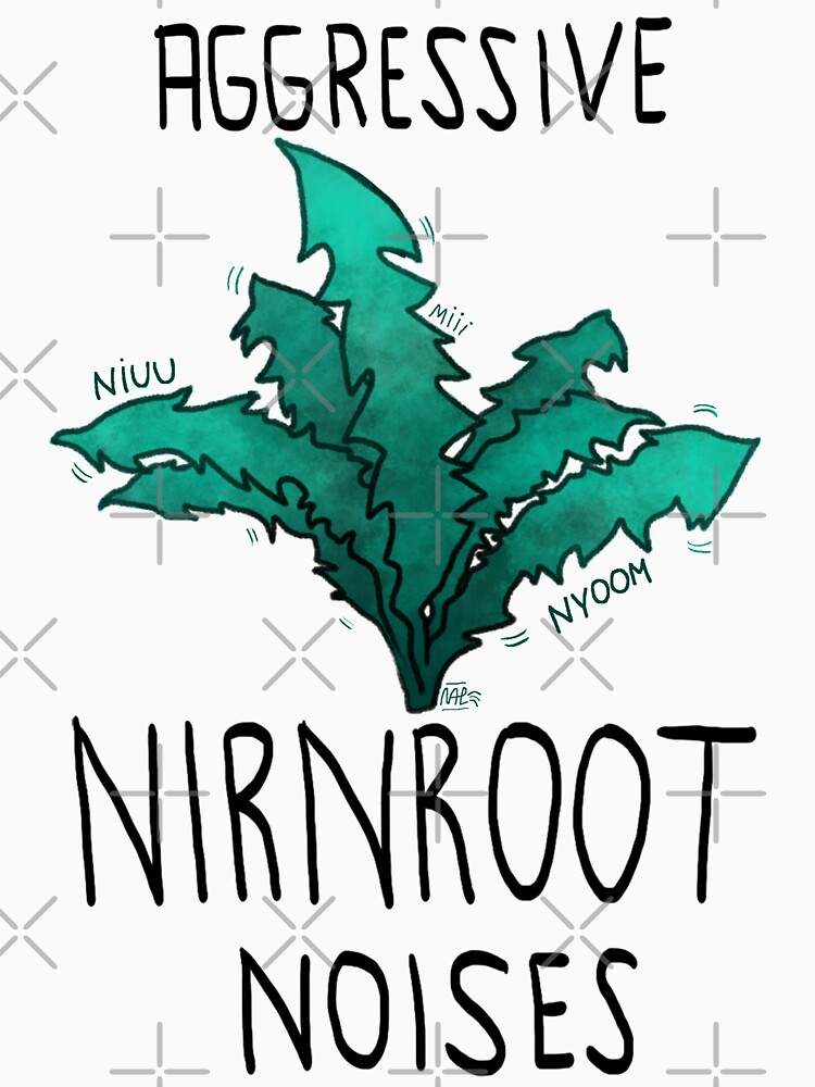 RedBubble: Aggressive nirnroot noises