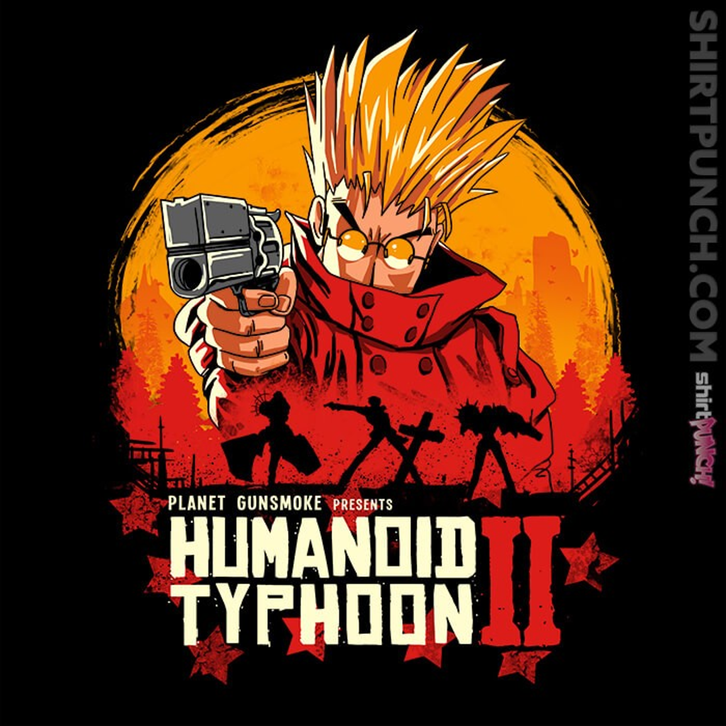 ShirtPunch: Red Humanoid Typhoon II
