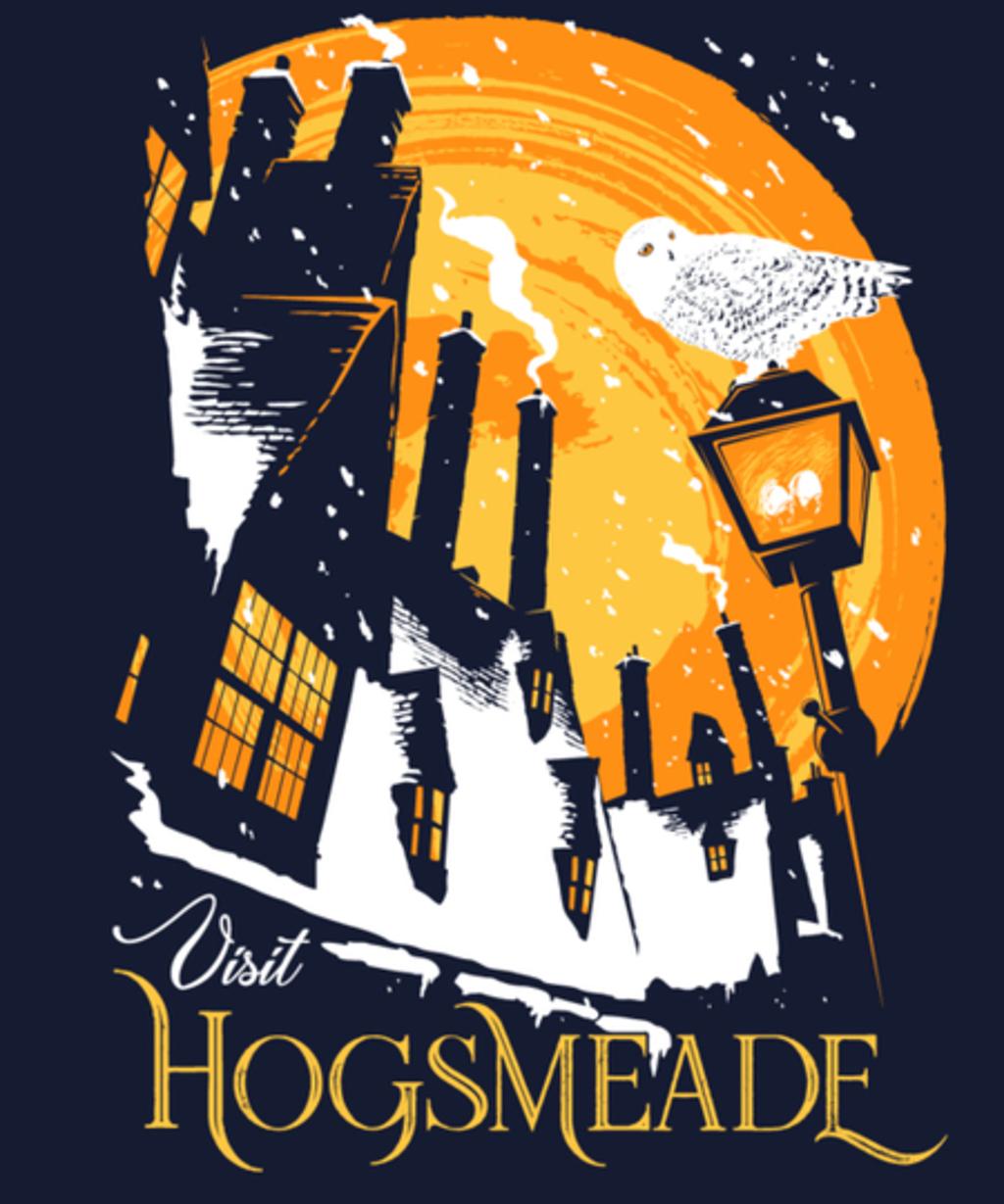 Qwertee: Visit Hogsmeade