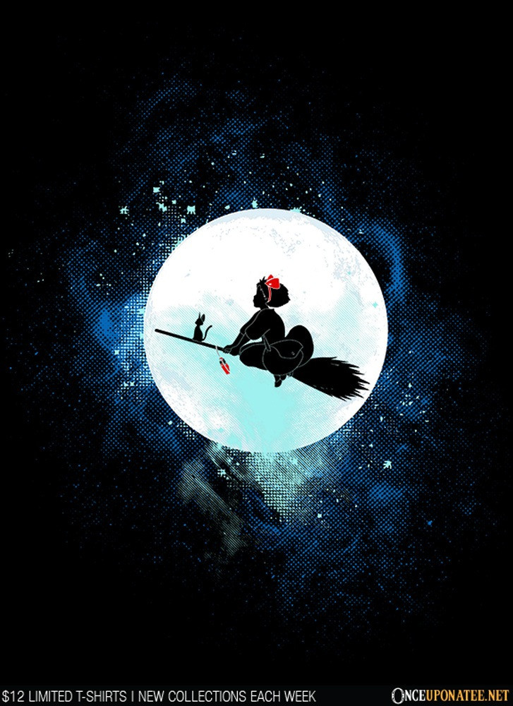 Once Upon a Tee: Delivery Service Art