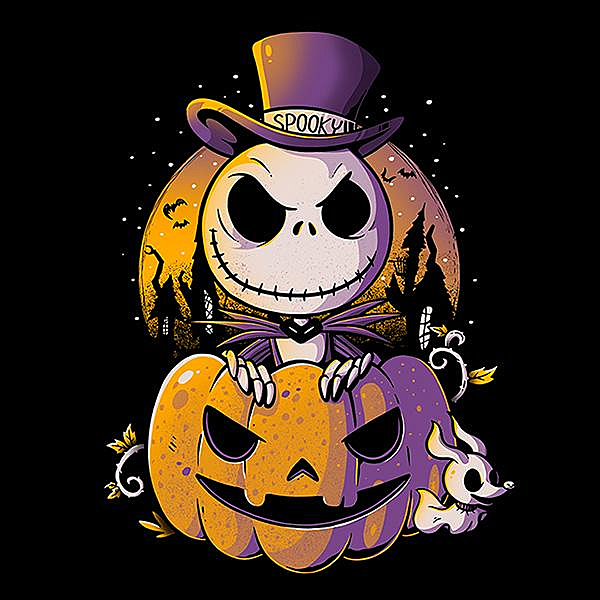 Shirt Battle: Spooky Jack
