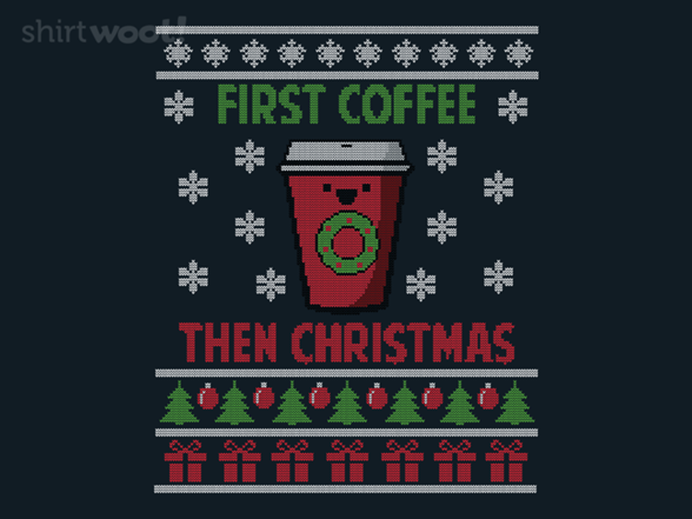 Woot!: First Coffee