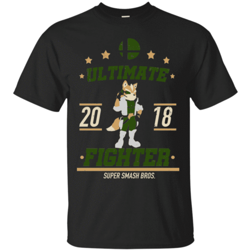Pop-Up Tee: Ultimate Fighter Fox