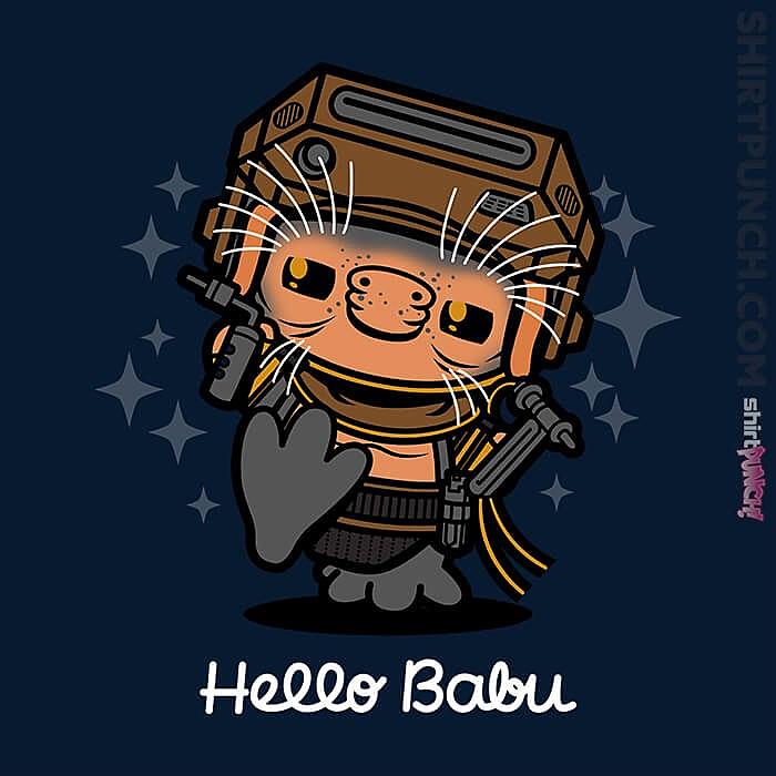 ShirtPunch: Hello Babu