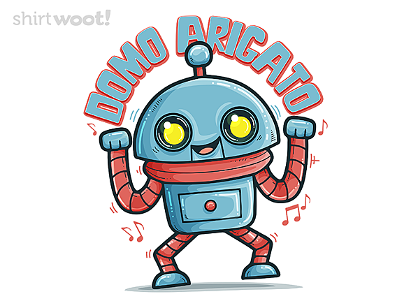 Woot!: Domo Arigato