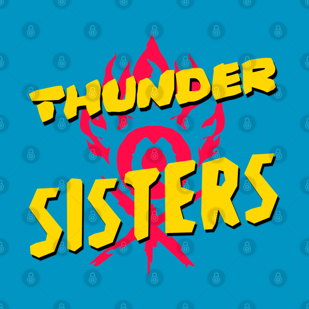 TeePublic: Thunder Sisters from the The Croods: A New Age