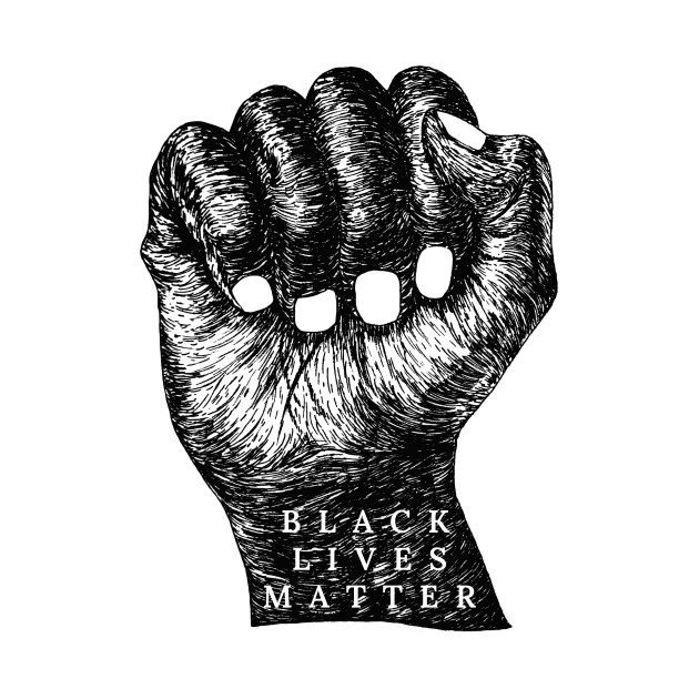 TeePublic: Black Lives Matter Illustration