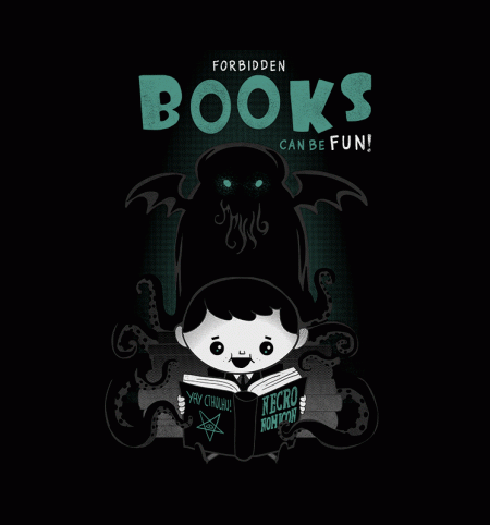 BustedTees: Forbidden Books Can Be Fun