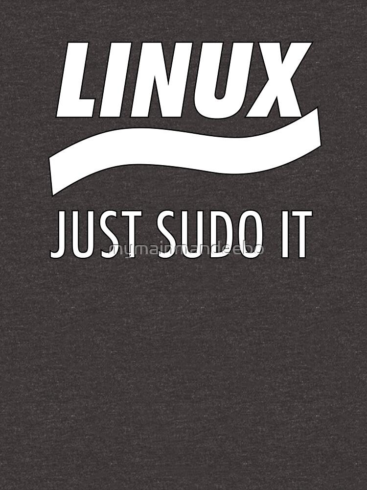 RedBubble: Linux - Just Sudo it
