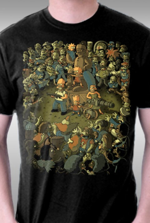 TeeFury: Zombies in Springfield